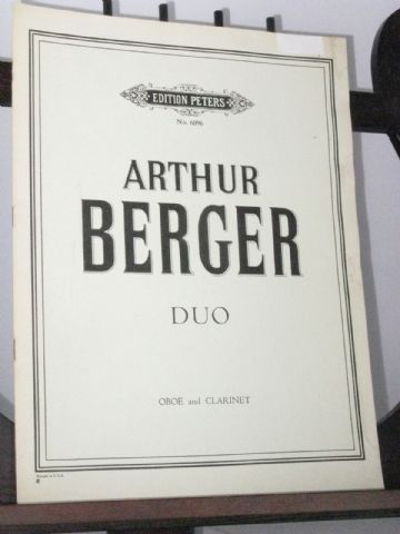 Berger A - Duo for Oboe & Clarinet
